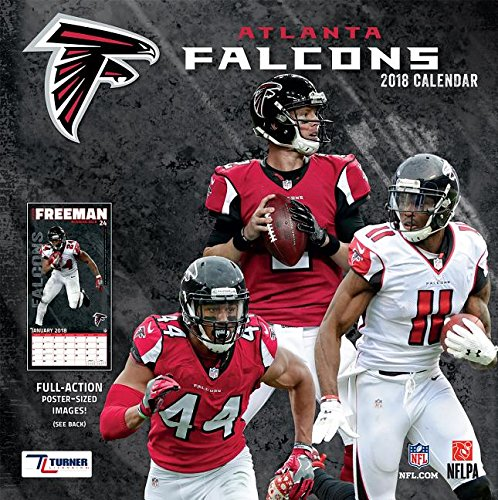 Atlanta Falcons 2018 Calendar: Full-Action Poster-Sized Images!