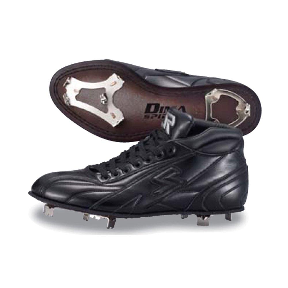 【SURE PLAY】シュアプレイ 革底金具取替え式スパイク ミドルカット DIMA SPIRITS ブラック sbs-ds321m ブラック 27.5cm B01J5MX1O0