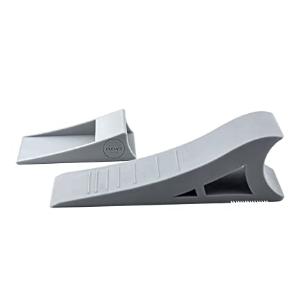 Quality Clever Decorative Rubber Door Stopper Tall and Adjustable To Fit All Doors Solid  sc 1 st  Amazon.com & Amazon.com : Quality Clever Decorative Rubber Door Stopper Tall and ...
