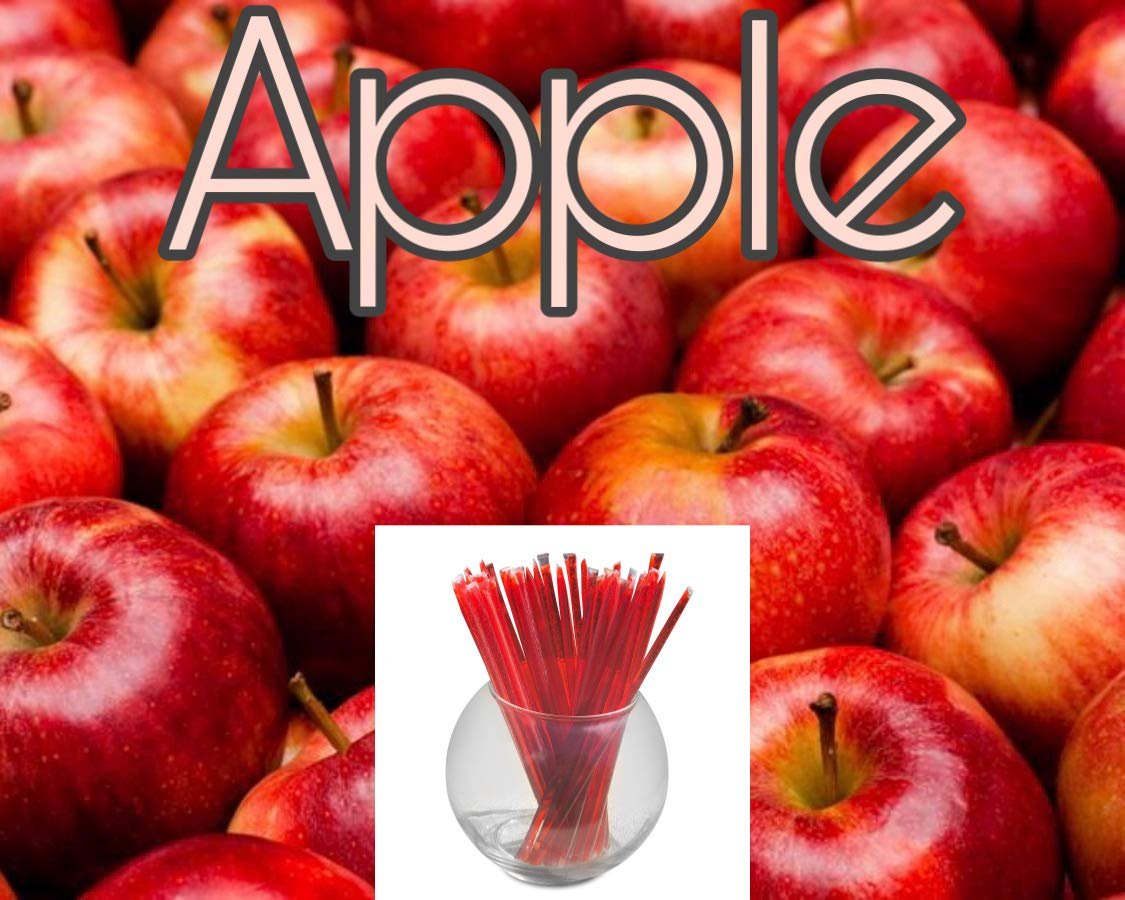 Oh Honey Please - Apple - 100 ct - Flavor Infused Honey Sticks (Apple)