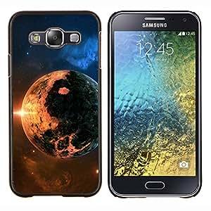 Be-Star Único Patrón Plástico Duro Fundas Cover Cubre Hard Case Cover Para Samsung Galaxy E5 / SM-E500 ( Galassia Stelle 8 )