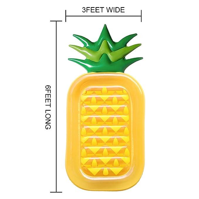 fairystar hinchable piña frutas agua flotador para piscinas ...