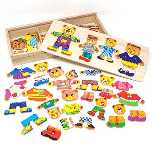 Lewo Wooden Jigsaw Puzzle Educational product image