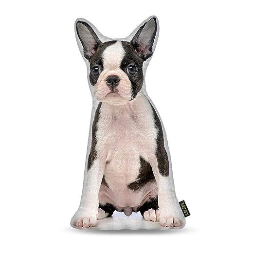 MISC Cojín Decorativo con Forma de Perro Boston Terrier de ...