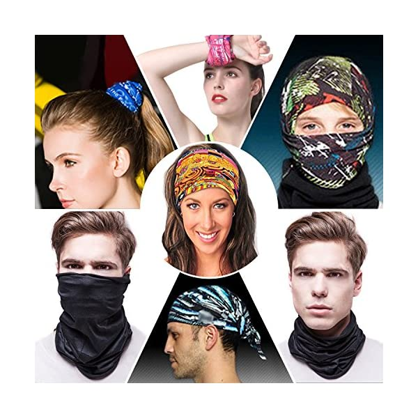 Headwear Plant Multifunctional Headbands Outdoor Magic Scarf As Sport Headwrap,Sweatband,Neck Gaiter,Tube Mask,Face Bandana