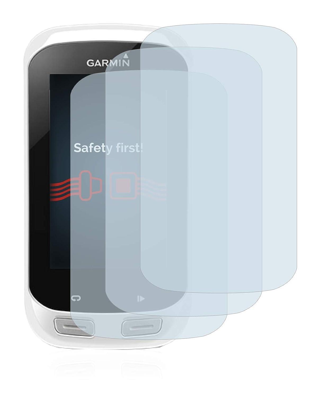 3 Pi/èces Film Protection Ecran 9H Savvies Verre Tremp/é Compatible avec Garmin Edge Explore 1000