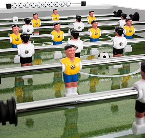 Klarfit Maracanã • Mesa de futbolín • Mesa de Juegos • Tamaño de ...