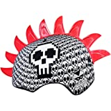 UPD Kids Bike Helmets Ages 3-5 | 5-8 | Bell Raskullz Mohawk Bone Block Skulls and Pink Love Bug Ladybug