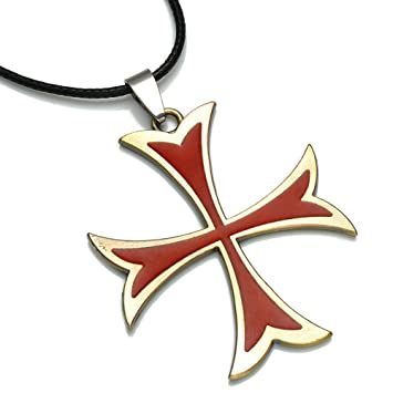 Amazon onglyp assassins creed knights templar medieval onglyp assassins creed knights templar medieval design cross necklace pendant aloadofball Image collections
