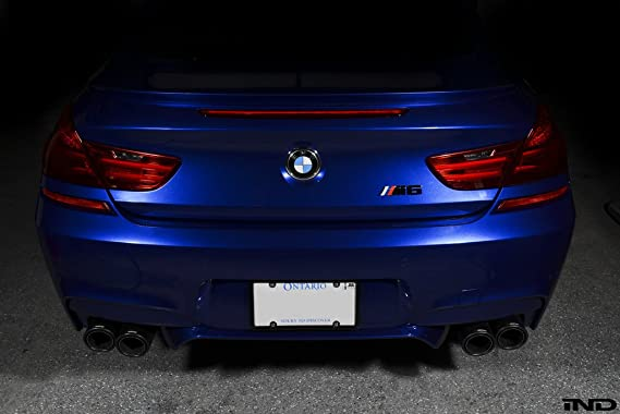 Amazon.com: IND Gloss Black Painted Trunk Badge For BMW F12/13 M6: Automotive