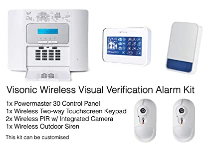 Visonic Professional Wireless Verificación visual Intruder ...