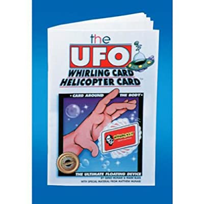 UFO Whirling Card Book/Trick: Toys & Games