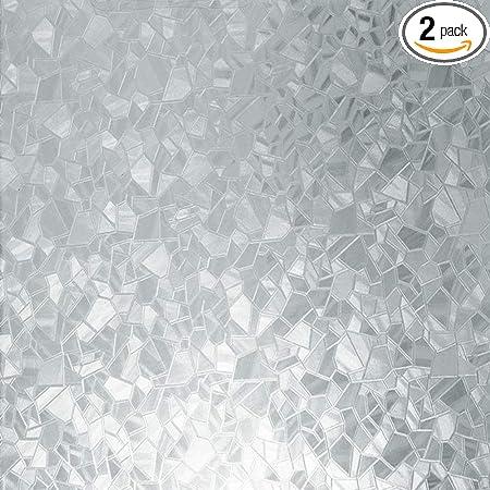 """Pearl 17.71/"""" x 78/"""" Roll d-c-fix 346-0276 Decorative Self-Adhesive Window Film"""