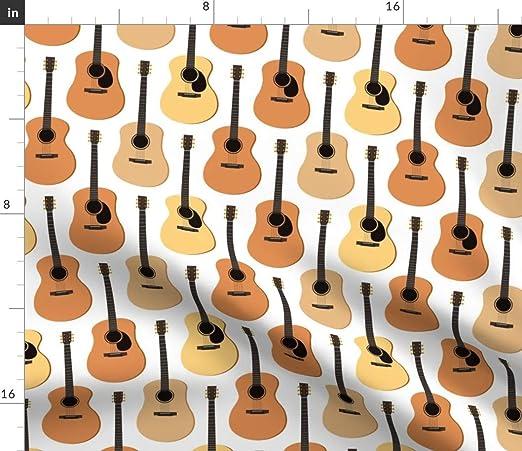 The Yard - Tela para guitarra acústica, diseño de flores de ...