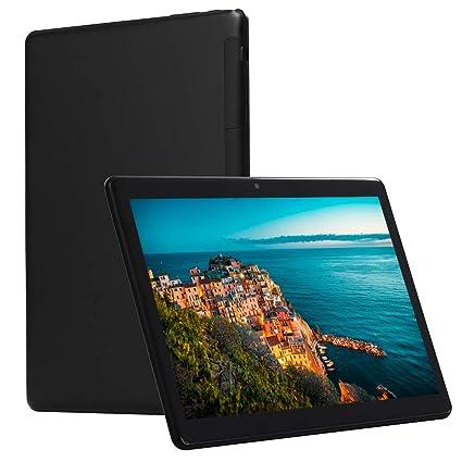 10 Pulgadas Android Desbloqueado 4G Teléfono Celular Tableta 4GB RAM 64GB ROM hasta 64GB de Almacenamiento, Octa Core, cámara Doble 5 + 8MP, Juego de ...