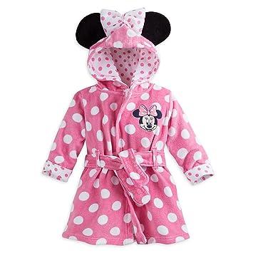 Amazon.com  Disney Baby Minnie Mouse Bath Robe Pink  Baby 0caf1ea5a