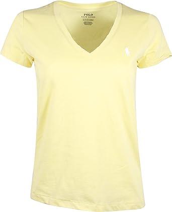 Ralph Lauren Polo Damen T-Shirt Signature T-Shirt Original Large