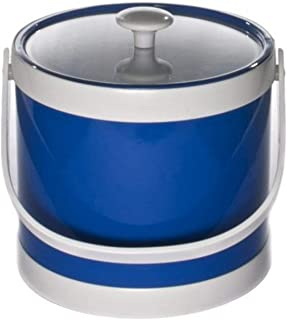 product image for Mr. Ice Bucket Springtime 3-Quart Ice Bucket, Specter Blue
