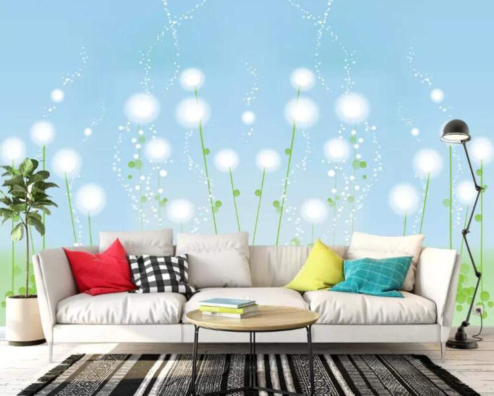 200140cm  Personnalisé 3D photo papier peint murale moderne minimaliste abstrait floral TV fond mur peinture décorative @ 350  245cm