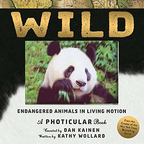 Wild: Endangered Animals in Living Motion (Photicular) cover