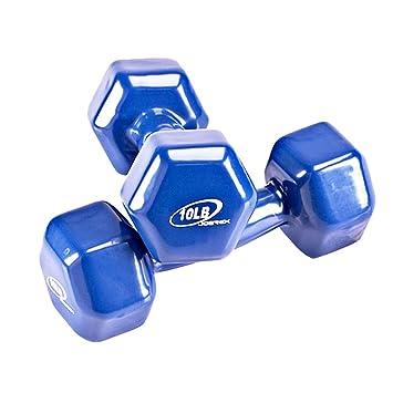 Joerex JD8110 - Mancuerna de Fitness 2 Pesas de 4.5Kg (Juego de Mancuernas,