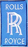 rolls royce polo shirt - ROLLS ROYCE Logo Sign Classic Car Patch Iron on Applique Embroidered T shirt Jacket Cloth BY SURAPAN