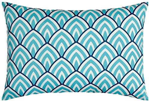 JinStyles Scale Outdoor Lumbar Decorative Throw Pillow Cover