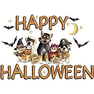 Collections Etc Happy Halloween Animal Garage Door Magnets