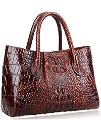 Women Handbags Crocodile Top Handle Bag Satchel Bags for Women
