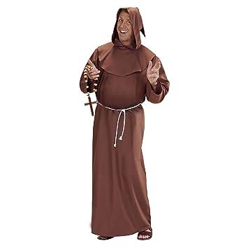 WIDMANN Widman - Disfraz de monje adultos, talla M: Amazon.es ...