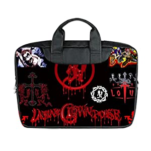 INSTALL AND EASY TO CARRY Wear& Slim &Dapper Insane Clown Posse Custom Waterproof Nylon Bag for Laptop 11 Inches(Twin sides)