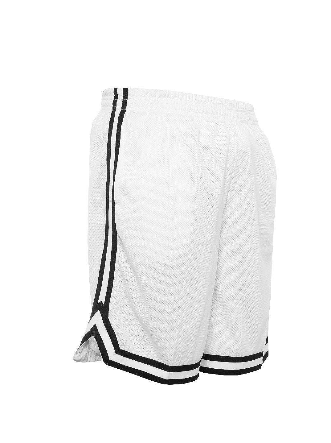 Urban Classics TB243 - Pantalones cortos deportivos con redecilla