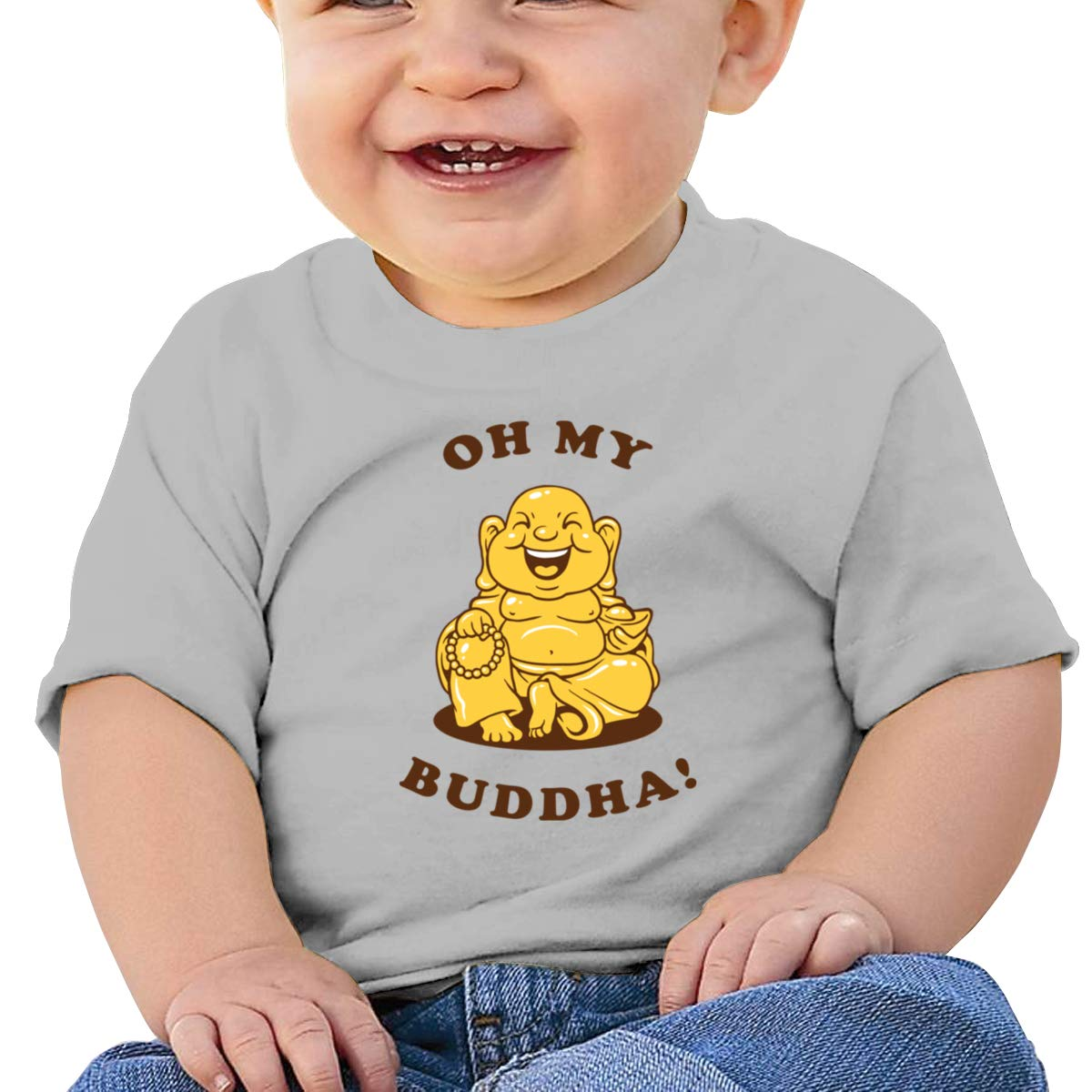Oh My Buddha Infan Short Sleeve Top Boys Birthday Gift