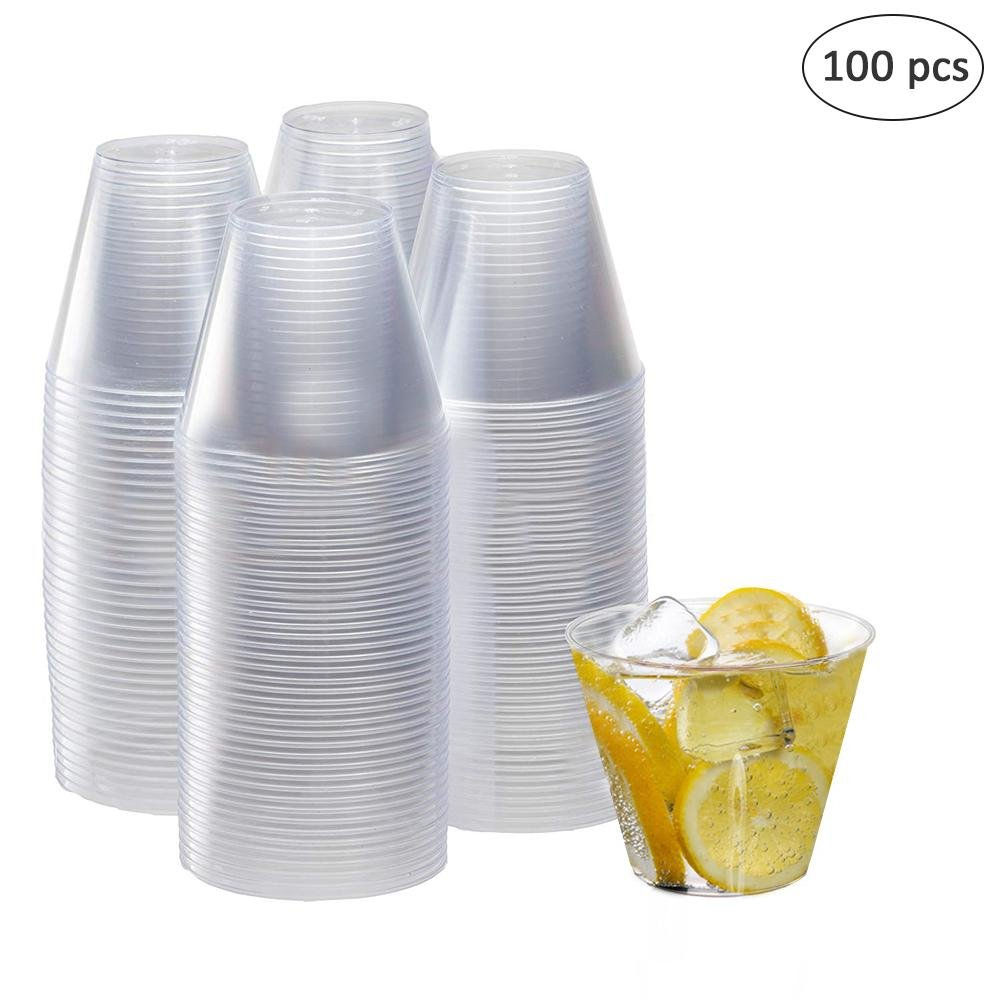 cary-yan Disposable Hard Plastic Straight Cup Thickening PS Hard Plastic Cup forSale up-to-Date by cary-yan