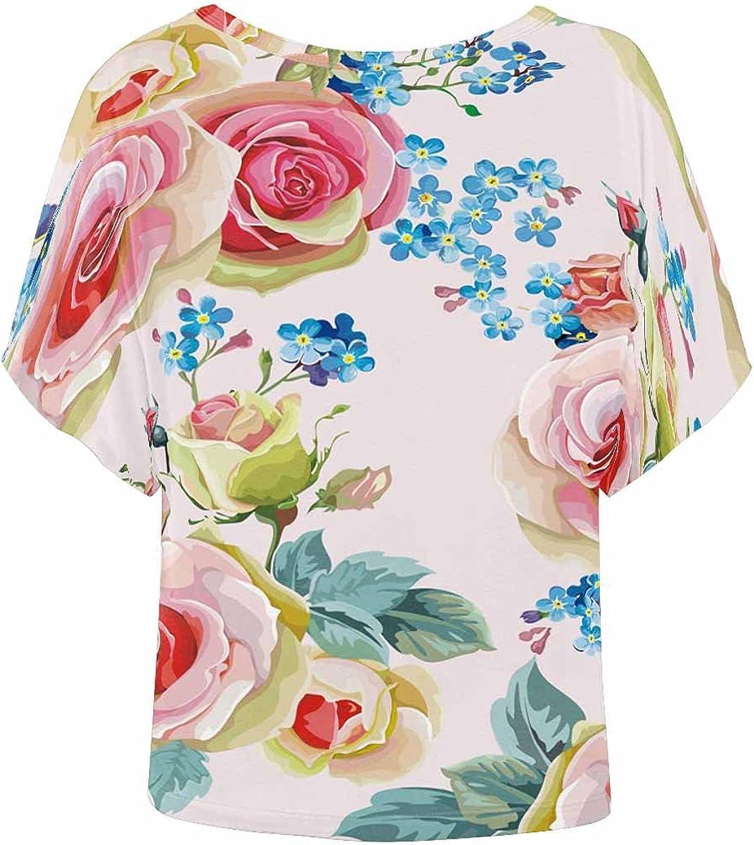 XS-2XL INTERESTPRINT Mens Hoodies Shirts Abstract Pink Lightweight Short Sleeve Pullover
