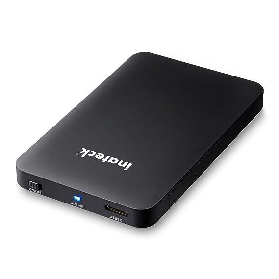 Inateck - Carcasa para Disco Duro Externo USB 3.0 (2,5