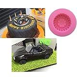 1 piece Lovely New Car wheel silicone flexible mold