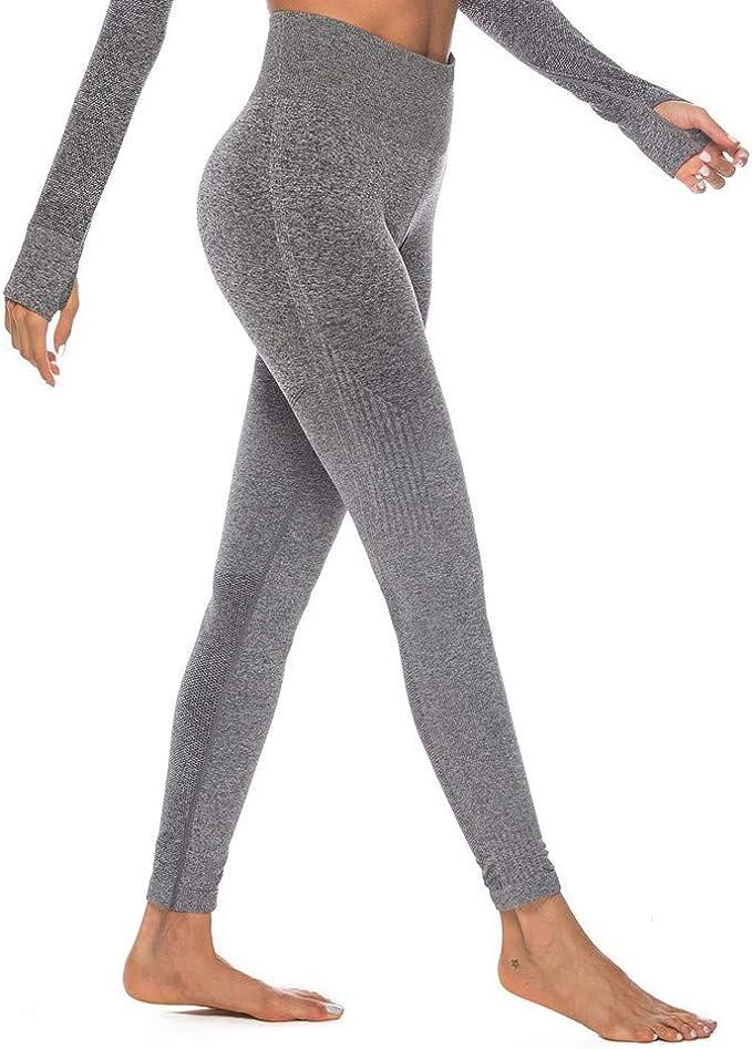 Damen Hose Leggings Sporthose Stretch Leggins Sport Yoga Fitness Leggins Neon