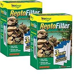 Tetra 26049 ReptoFilter Filter Cartridges, Large, 6-Count