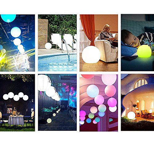 Outdoor Solar Color Changing Led Floating Lights Ball in Florida - 7