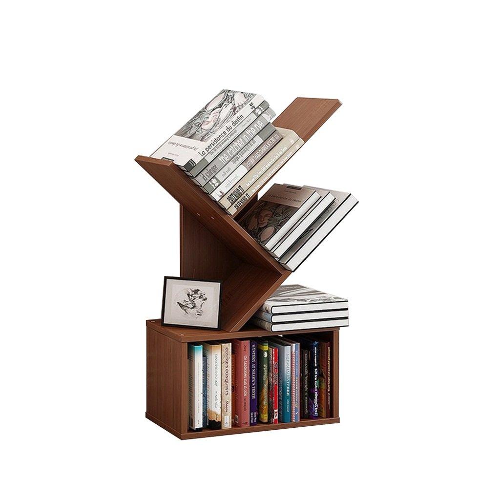 ZWJXF Xufei Bambusbaum-Landungs-Bücherregal, kreativer Studenten-Moderner Bücherschrank - Schön und praktisch (Größe   4020107cm)  402079cm