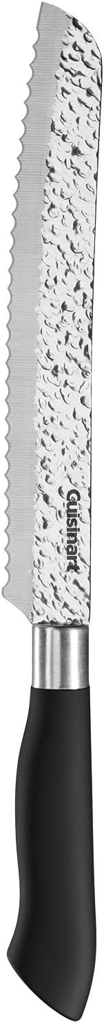 """Cuisinart C77PP-8BD Classic Artisan Collection Bread Knife, 8"""", Black"""