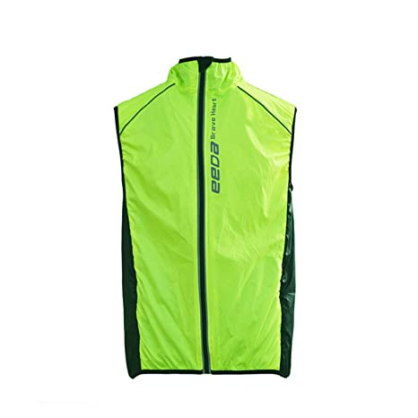 Rockbros Reflective Cycling Sleeveless Jersey Outdoor Sporting Wind Vest Special Buy Men's Clothing