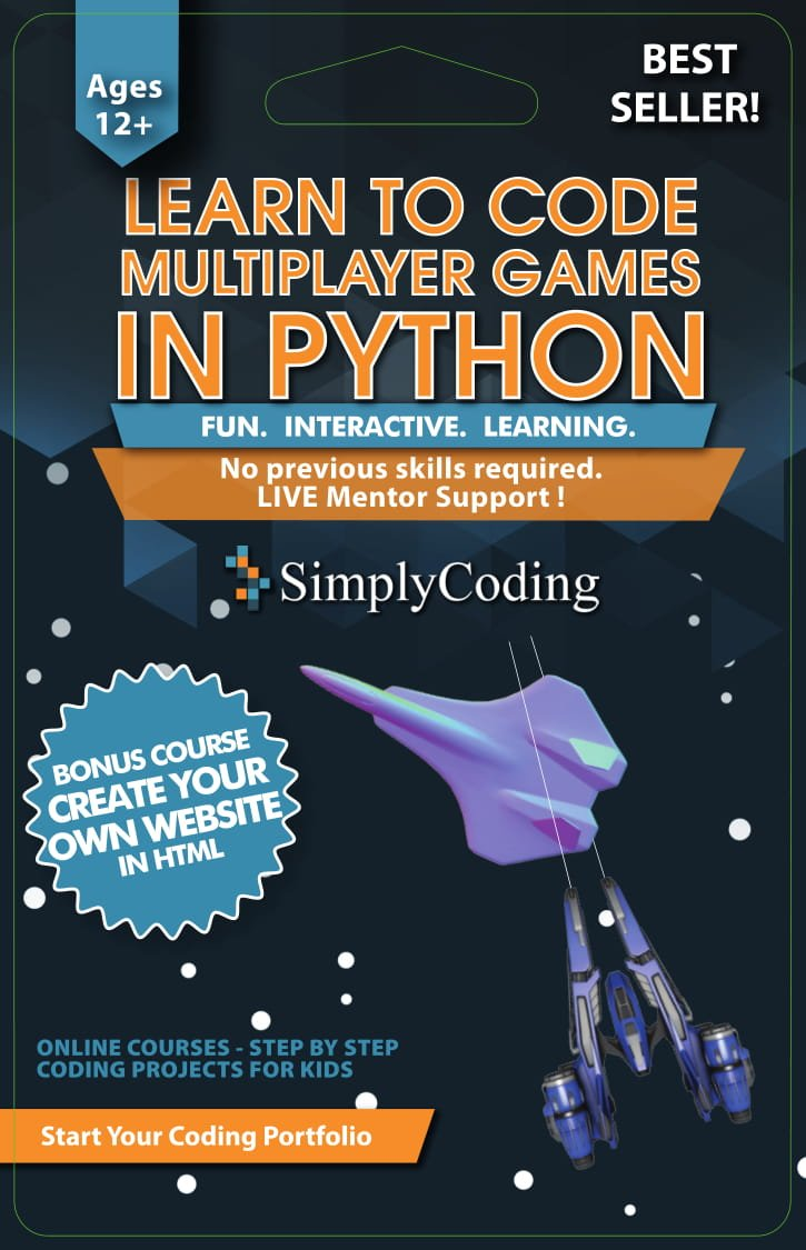 Learn to Code PYTHON for Multiplayer Adventure Games (Ages