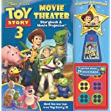Toy Story 3 Movie Theater: Storybook & Movie Projector [With Projector & Flashlight with Movie Images]