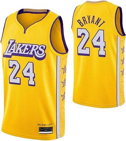 Humana ES Jersey - Lakers # 24 Kobe Bryant Camiseta de Malla ...
