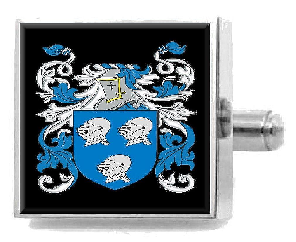 (セレクトギフト) Select Gifts O'Hara アイルランド紋章 スターリングシルバー カフスボタン メッセージボックス   B07FDGWDXC