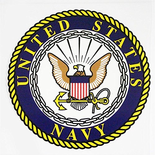 Navy Seals Decal - U.S. Navy with Seal Clear Decal