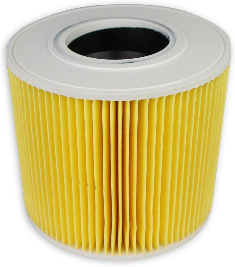 per Uso Umido e Secco Wessper/® Filtro a Cartuccia per K/ärcher NT 27//1 Me Advanced Professional aspirapolvere