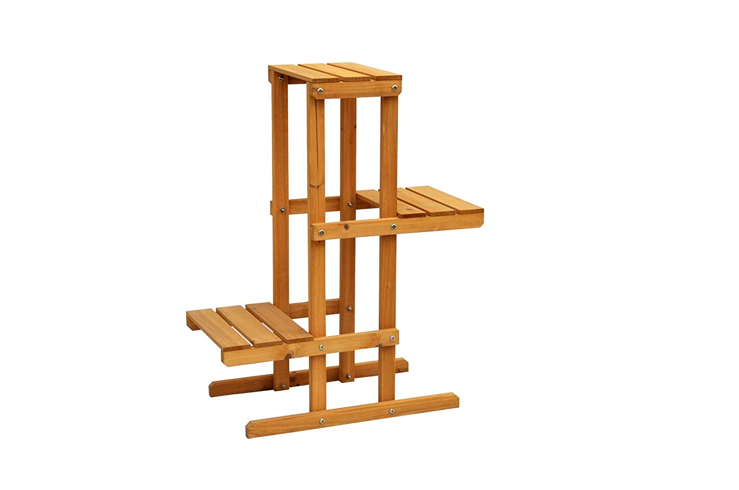 Amazon.com : Leisure Season PS6111 3-Tier Plant Stand : Plant Stands ...